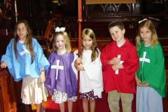 Children's Chasubles Blessing, April 2009