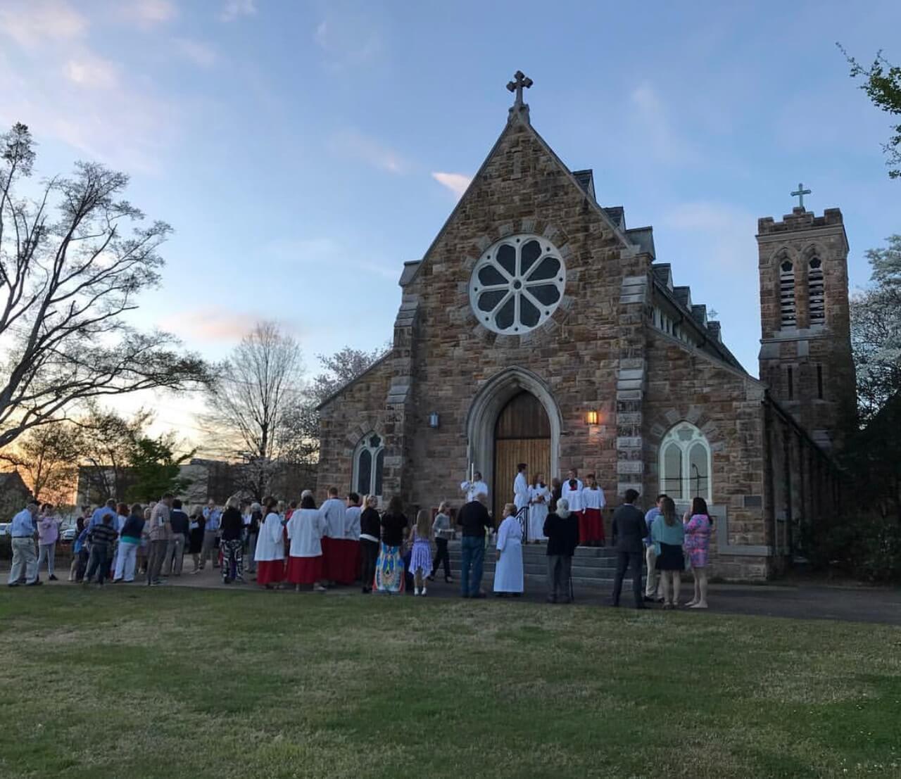 Saturday Vigil Enter Church