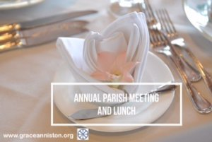 Annual Parish Meeting is January 27