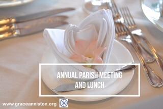 Annual Parish Meeting is January 27