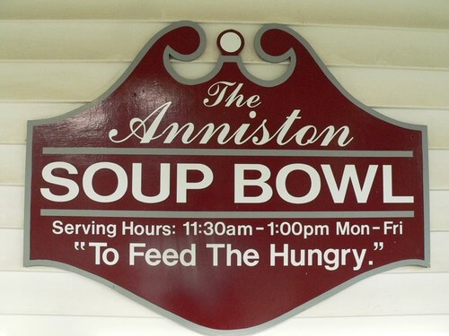 Grace to Serve at Anniston Soup Bowl – January 17 and 18