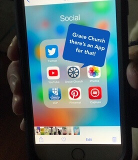 Grace Church – There's an App for That!
