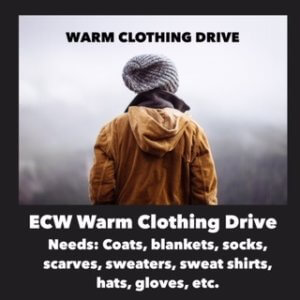 ECW Warm Clothing Drive