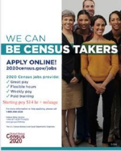 2020 Census Taker Opportunity