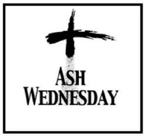 Ash Wednesday Services on February 26
